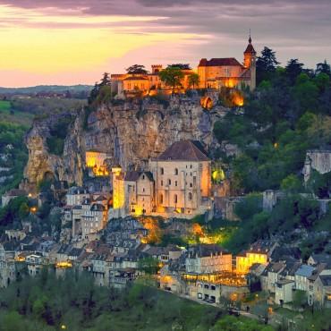 Journée à Rocamadour