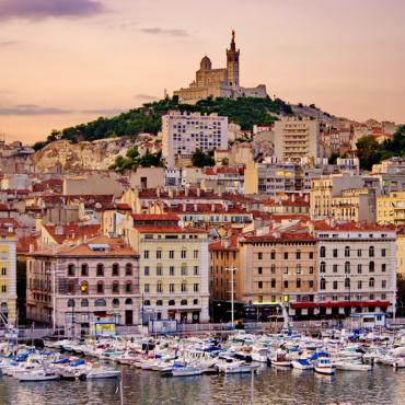 La côte Varoise et Marseille