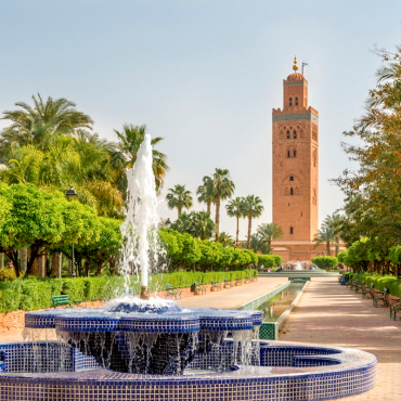 Marrakech « la ville rouge »