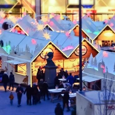 Marché de Noël en Provence