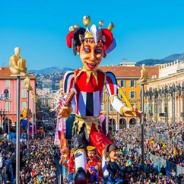 Carnaval de nice et la fête du Citron de Menton